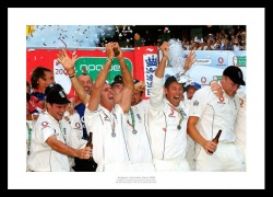 Ashes 2005 Memorabilia - England Cricket Team Celebrations Photo