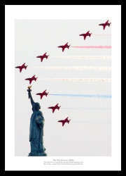 The Red Arrows 'New York' Aviation Photo