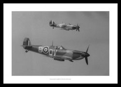 Supermarine Spitfire & Hawker Hurricane Classic Photo