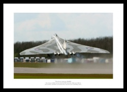 Vulcan Bomber Takes Off Aviation Legends Photo