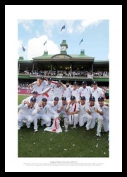 2011 Ashes Print - England Cricket Team Celebrations