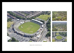 Edgbaston Cricket Ground Aerial Views Photo Montage