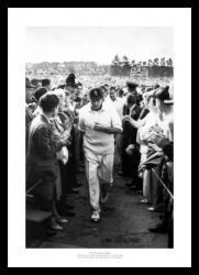 Fred Trueman Photo - 1961 Ashes Series England Cricket Memorabilia