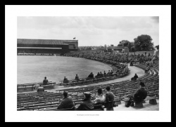 Cricket Ground Prints - Headingley 1935 Historic Photo