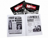 Personalised Daily Mirror Historic Newspaper Year Book