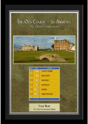 Personalised Golf Gift - Open Championship Winners Photo