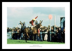 Red Rum 1977 Grand National Win Photo Meorabilia
