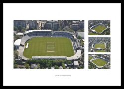 Lords Cricket Ground Aerial Views Photo Montage