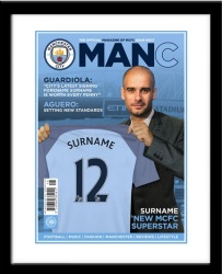 Personalised Football Magazine Cover