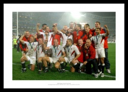 2003 Rugby World Cup Final Print - England Rugby Team Celebrations