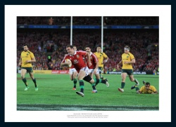 Jamie Roberts Photo - British & Irish Lions Australia 2013 Tour
