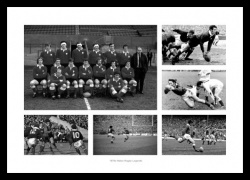 Wales Rugby 1970s Legends Photo Memorabilia