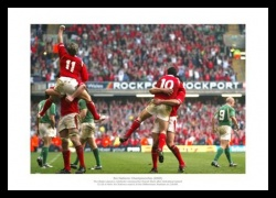 Wales Rugby Memorabilia - 2005 Grand Slam Celebrations Print
