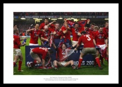 Wales Rugby Photo - 2008 Grand Slam Celebrations Memorabilia