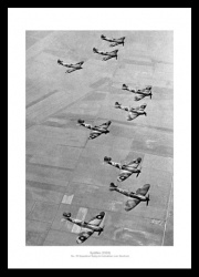 Spitfire RAF No19 Fighter Squadron 1939 WW2 Photo