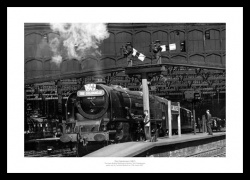 Caledonian Express 1957 Historic Steam Train Photo Memorabilia