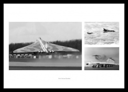 Vulcan Bomber Aviation Legends Photo Montage