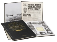 WW2 75th Anniversary Pictorial Historic Newspaper Memorabilia Book