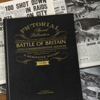 Battle of Britain Pictorial Historic Newspaper Memorabilia Book