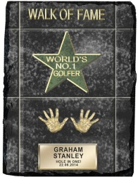 Personalised Slate Golfer Walk of Fame