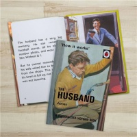 Personalised Ladybird's How it Works - The Husband