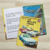 Personalised Ladybird's How it Works - The Mid Life Crisis