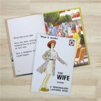 Personalised Ladybird's How it Works - The Wife