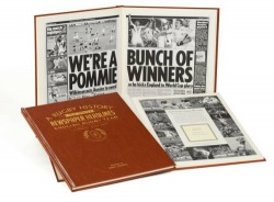 Personalised England Rugby Historic Newspaper Memorabilia Book