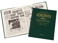 Year Edition - Personalised Historic Newspaper Book