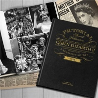 Queen Elizabeth II Historic Newspaper Memorabilia Book