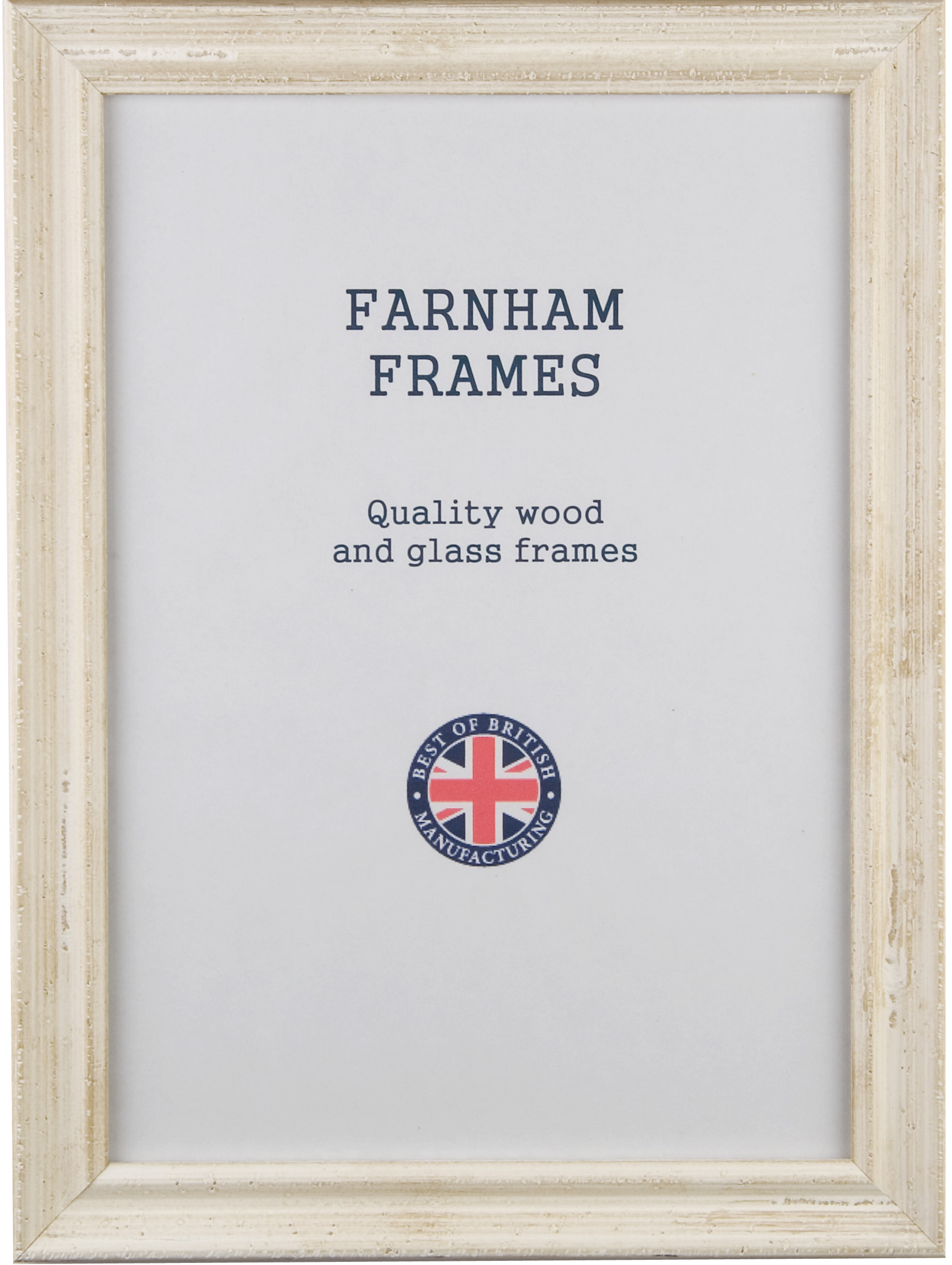 12x10 inch distressed white wood frames at Farnham Frames | British ...