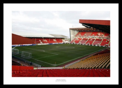 Aberdeen FC Pittodrie Stadium Photo Memorabilia
