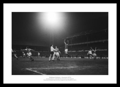 Arsenal 1971 League Champions Winning Goal Photo Memorabilia