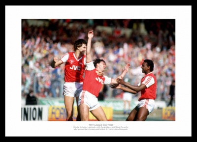 Arsenal 1980s Legends - Nicholas  Adams & Rocastle Photo Memorabilia