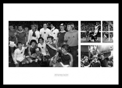 Aston Villla 1982 European Cup Final Photo Memorabilia
