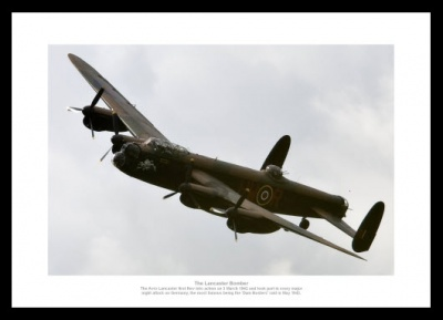 Lancaster Bomber Aviation Legends Photo