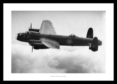 RAF Lancaster Bomber Aviation Photo