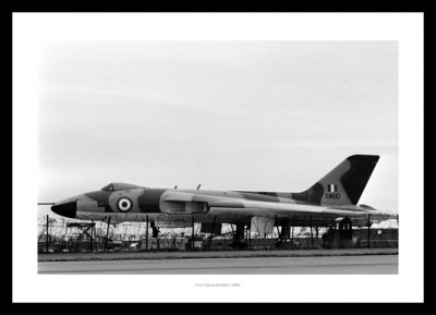 Avro Vulcan Bomber at RAF Airbase1965 Aviation Photo Memorabilia