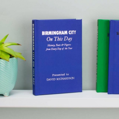 Personalised Birmingham City 'On This Day' Book