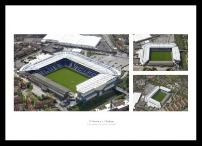 Birmingham City St Andrews Stadium Aerial Photo Memorabilia
