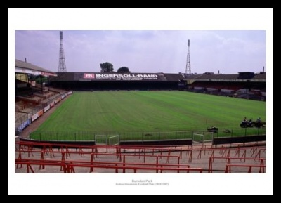 Burnden Park Bolton Wanderers Old Stadium Photo Memorabilia