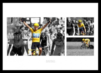 Bradley Wiggins 2012 Tour de France Spot Colour Photo Memorabilia