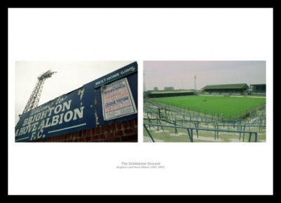 Brighton FC Memorabilia Goldstone Ground Photo Memorabilia