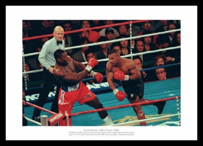 Bruno v Tyson 1996 WBC Heavyweight Boxing Photo Memorabilia
