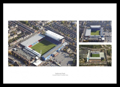Crystal Palace Selhurst Park Stadium Aerial Photo Memorabilia