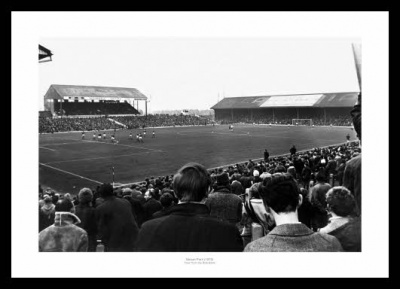 Ninian Park Stadium 1970 Cardiff City Photo Memorabilia