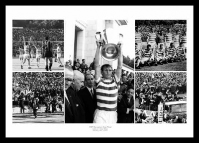 Celtic FC 1967 European Cup Final Photo Montage