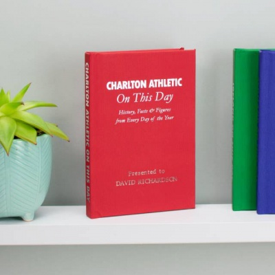 Personalised Charlton Athletic 'On This Day' Book