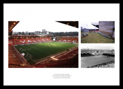 Charlton Athletic The Valley through the Ages Photo Memorabilia