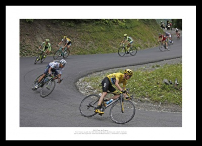 Chris Froome Alps Descent  2015 Tour de France Photo Memorabilia